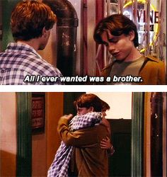 Shawn and Jack - Boy Meets World. I love their bro moments. <3