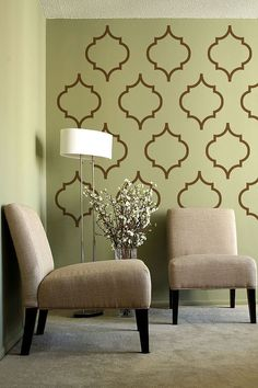 Moroccan Pattern 2 - Vinyl Wall Decal  - wall stickers set of 48