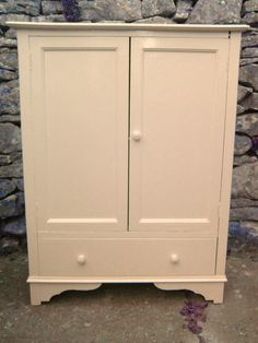 Nursery bedroom furniture given a shabby Chic Facelift.rubbed down,painted in Farrow & Ball paint, distressed and waxed