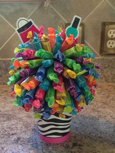 Tootsie Roll Candy Bouquet