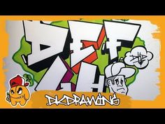 Graffiti Tutorial How To Draw Chaos Graffiti Bubble Style Letters