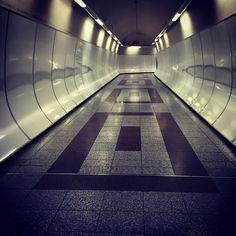 #hallway #tube #light #reflection #iPhone   by Tryfon Tobias Pliatsikouris