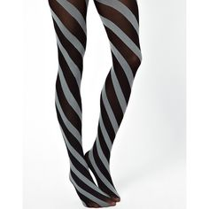 Happy Socks Diagonal Stripe Tights (20 CAD) ❤ liked on Polyvore featuring intimates, hosiery, tights, leggings, stripe tights, high waisted tights, striped tights and striped stockings