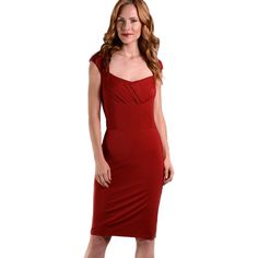 Red Hot Curves Women's Elsie Shapewear Dress (Black Medium) ($45) ❤ liked on Polyvore featuring dresses, black, red dress, cocktail dresses, evening cocktail dresses, red holiday dress and sheath cocktail dress