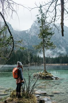cheap travel tip Obersee, Hintersee, Watzmann Eish - traveltip Wanderlust Travel, Berchtesgaden National Park, Trailers Camping, Europa Tour, Travel Around The World, Around The Worlds, Parc National, National Forest, Short Trip