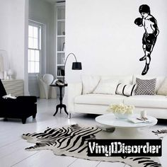 Boxing Wall Decal - Vinyl Decal - Car Decal - Bl010