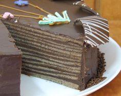 Receta de Torta de panqueques - 6 pasos