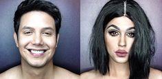 Er macht weiter! Mann verwandelt sich mit Make-up in noch mehr Stars