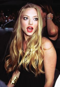 Amanda Seyfried. Love her in absolutely everything she's in