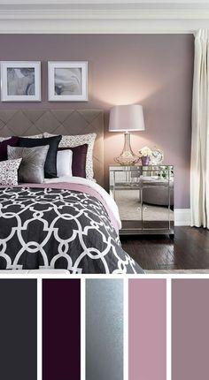 Casa Ideas 43 small master bedroom ideas for couples decor 31 ~ bedroom purple Master Bedroom Ideas Purple Master Bedroom, Purple Bedrooms, Master Bedroom Design, Modern Bedroom, Contemporary Bedroom, Bedroom Yellow, Bedroom Classic, Luxury Bedrooms, Contemporary Kitchens