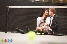 tennis engagement session