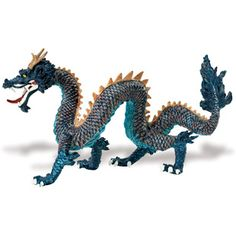 Blue Chinese Dragon picture