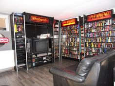 Nintendo Video Game Shelves via NintendoAge user Moeki