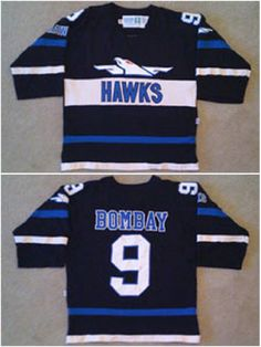 1e029b562 Find More Sports Jerseys Information about Movie Worn The Mighty Ducks 1973  Hawks 9
