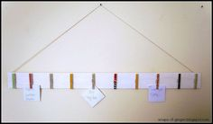 Hometalk :: White-Washed Memo Board  Wow I love this and need to make it, Looks simple enough