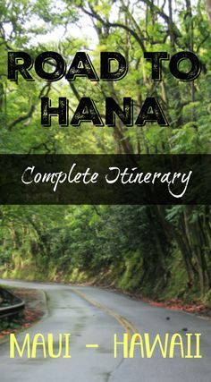 Explore the adventure side of Maui Hawaii. The Road to Hana complete itinerary and road trip guide to the ultimate Maui adventure. http://www.divergenttravelers.com/road-to-hana-adventure-of-a-lifetime/