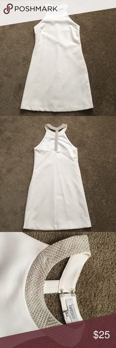 Lucy Paris white dress Cute Lucy Paris white dress. Bought from a local boutique. Size small. Only worn once. It would be perfect for a bride! Dresses