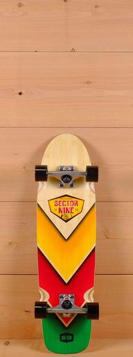 "The Sector 9 31"" Bamboozler is designed for carving and cruising."