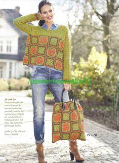 Irish crochet &: granny square