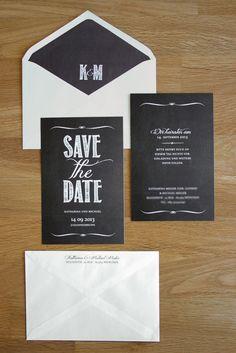 save the date karten chalkboard