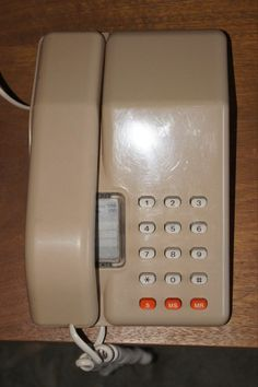 Original 1980's viscount phone. My mum still has this phone