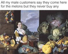 Tagged with funny, art, memes, awesome, dump; Shared by Art Memes for Mother's Day Renaissance Memes, Medieval Memes, Medieval Reactions, Classical Art Memes, Funny Art, Funny Memes, Hilarious, Funny Gifs, Memes Historia