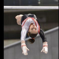 #gymnast #gymnastics #worldcup #2014 #bars #flight #uneven #unevenbars #roxana #popa #nedelcu #roxananedelcu #shap #shapschnikova