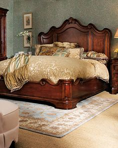 """""""Lumiere"""" Bedroom Furniture by UNIVERSAL FURNITURE at Horchow."""