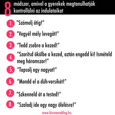 8 módszer, amivel a gyerekek megtanulhatják kontrollálni az indulataikat | Kismamablog Brain Gym, Baby Health, Babysitting, Classroom Organization, Kids And Parenting, Kids Learning, Psychology, Positivity, Good Things
