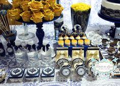 Festa de Aniversário Personalizada com o tema Azulejo Português. #Personalizados: Bibelô de Luxo by Glau Sumi Zen #DecoraçãoPersonalizada: Bibelô de Luxo by Glau Sumi Zen Bibelô de Luxo by Glau Sumi Zen - Festas Personalizadas www.bibelodeluxo.com.br | www.facebook.com/BibelodeLuxo #Foto: Bibelô de Luxo