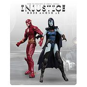 DC Injustice Flash and Raven 3 3/4-Inch Action Figures - http://lopso.com/interests/dc-comics/dc-injustice-flash-and-raven-3-34-inch-action-figures/