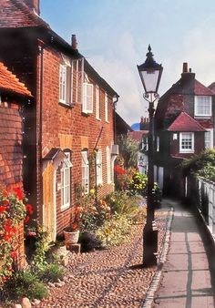 Rye, East Sussex, England:  a lovely village, especially on a quiet Sunday morning!
