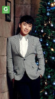 Seungri ♡ #BIGBANG // Gmarket 'Christmas Wish List' CFs 2013