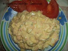 Jednoduchý vajíčkový salát.