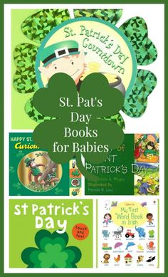 Sweet St. Patrick's Day Books for Babies