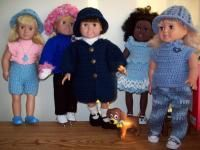 Free crochet pattern for an 18 inch doll or American Girl Doll. Happy crocheting!
