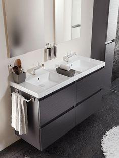 muebles de baño b-box de Bath+, para aprovechar el espacio con una estética ordenada http://www.sanchezpla.es/muebles-de-bano-b-box-de-bath/