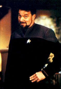 ... Canto: Star Trek Next Generation - Comandante William Riker