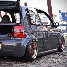 When the GTI was clean #vw #lupo #gti #airliftperformance #bbs