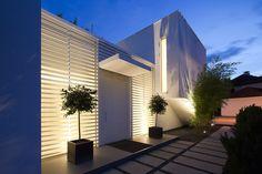 Illuminazione Esterna Villa Moderna : Illuminazione esterna villa moderna testa palo illuminazione snowb