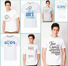 L ooking for Papal visit commemorative shirts? Visit this link to check out the designs. Pope Francis, Charity, Cool Designs, Mens Fashion, Children, Mens Tops, Blog, Shirts, Moda Masculina