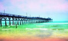 Just a slice of heaven - Cherry Grove Pier in North Myrtle Beach, South Carolina.