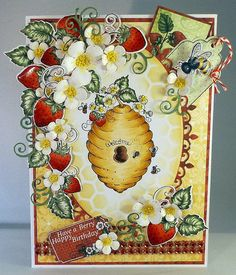 Magic....... resides within: Strawberries and Honey anyone?