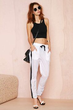 First Base Parachute Track Pant