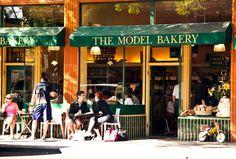 The Model Bakery on Main Street in St Helena, Napa