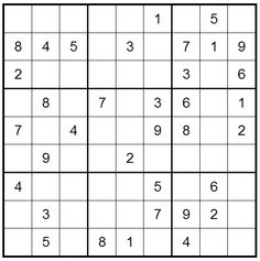 Easy like Sunday morning Sudoku  (04/08/2013) click to play online.
