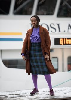 Joanna Totolici is on the ground in Stockholm to shoot the best street-style looks outside the shows.