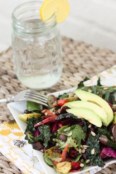 Detox Salad by eatingbirdfood #Salad #Healthy #Light