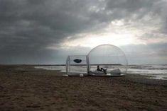 大自然を満喫できる移動式ホテル「Bubble Tree」