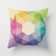 """Throw Pillow Cover made from 100% spun polyester poplin fabric, a stylish statement that will liven up any room. Individually cut and sewn by hand. The pillow cover is available in three sizes, 16"""" x 16"""", 18""""x18"""" or 20""""x20"""". Features a double-sided print and is finished with a concealed zipper for ease of care. $28"""